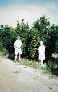 Ben and Naoma Stone on their first visit to California in 1996